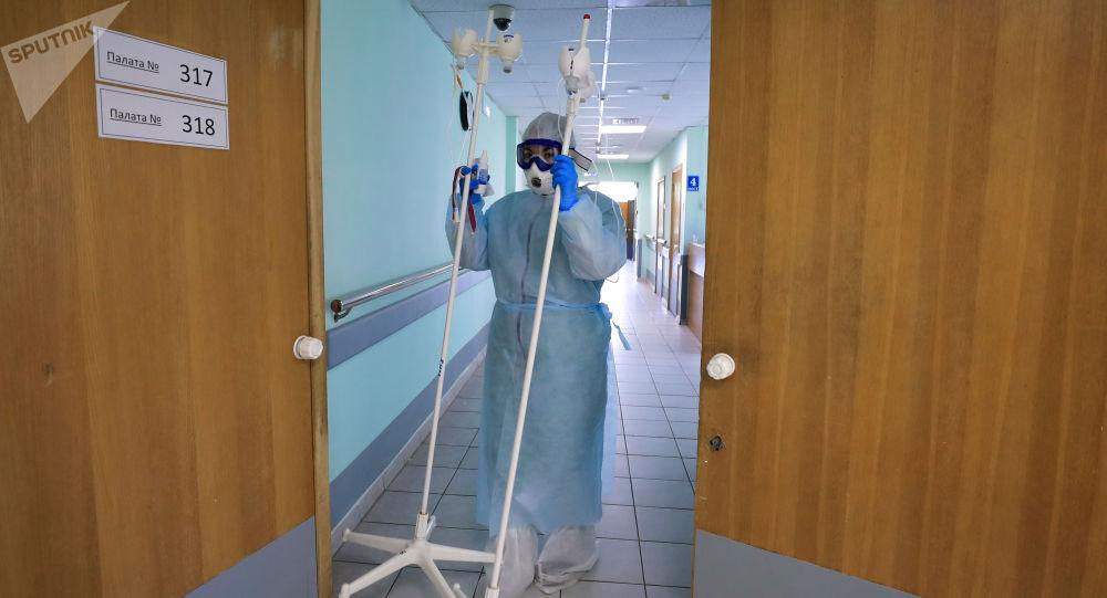 俄防疫指揮部:俄單日新增確診新冠感染病例16521例 累計達1497167例
