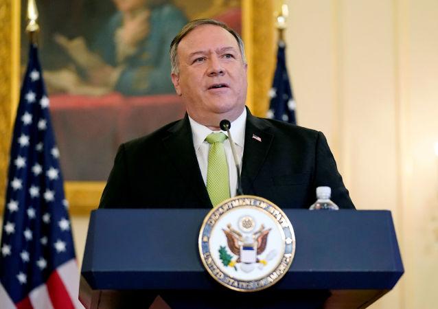 美國國務卿邁克•蓬佩奧