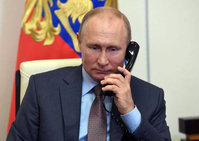 普京向阿塞拜疆總統阿利耶夫祝賀生日