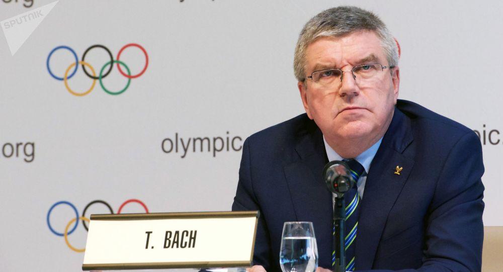 國際奧林匹克委員會主席托馬斯•巴赫