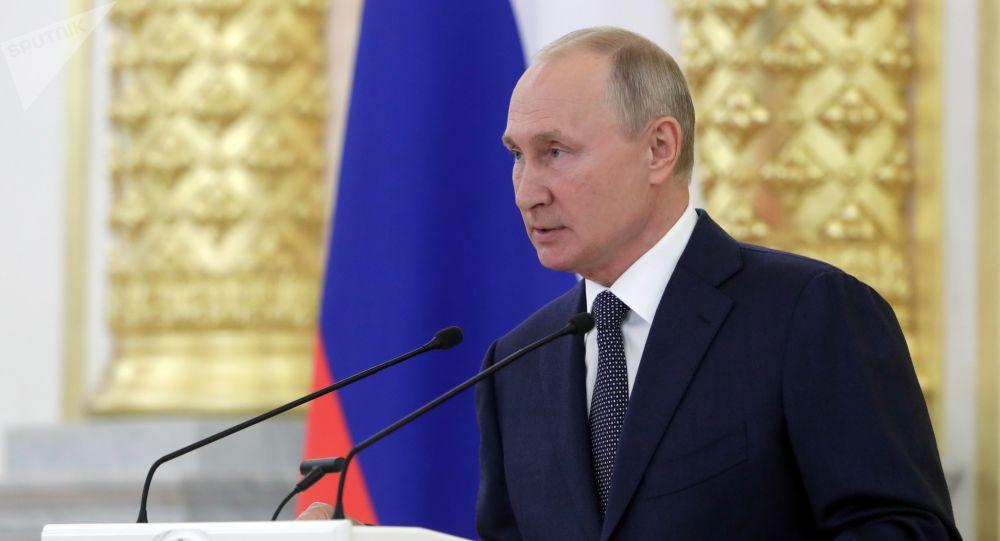 普京表示,俄羅斯較其他國家應對疫情更加從容