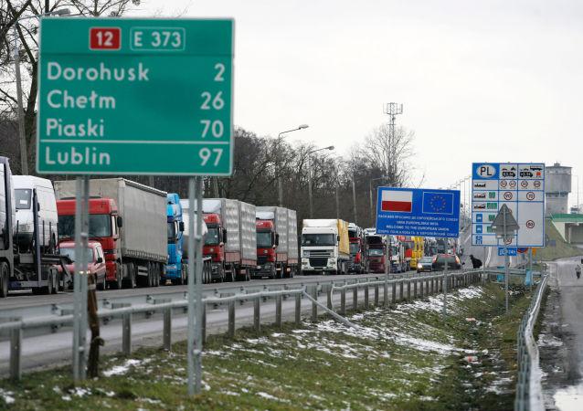 白俄羅斯禁止從波蘭進口商品