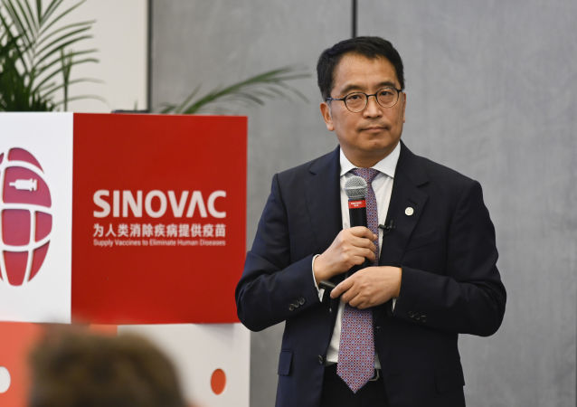 中國科興控股生物技術有限公司董事長兼CEO尹衛東