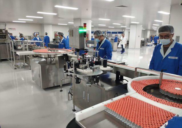 中國新冠疫苗CoronaVac