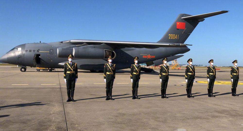中國首次使用「運-20」接志願軍烈士遺骸回國