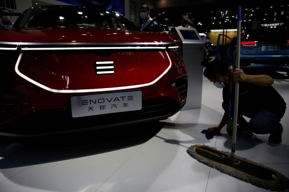 2020北京國際汽車展覽會照片
