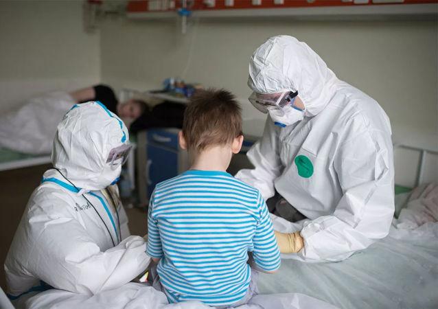 醫生發現新冠兒童患者新症狀