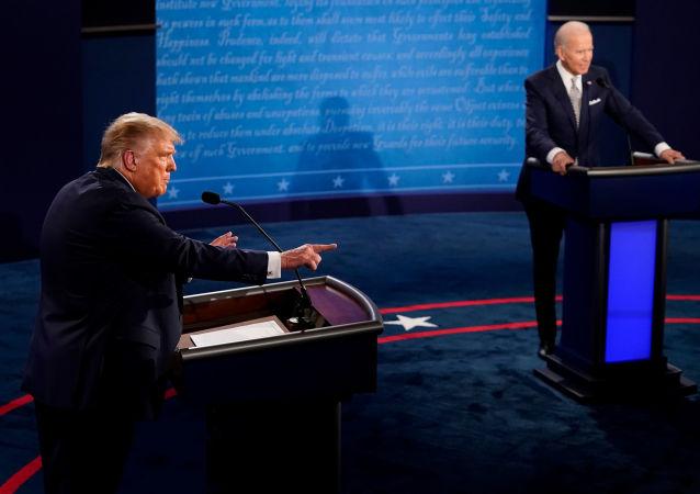 CNN和CBS電視觀眾認為拜登在辯論中獲勝
