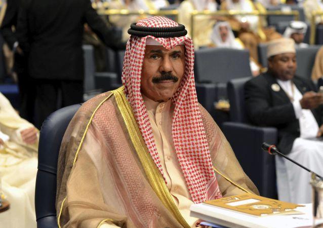 科威特新任埃米爾納瓦夫·艾哈邁德·賈比爾·薩巴赫