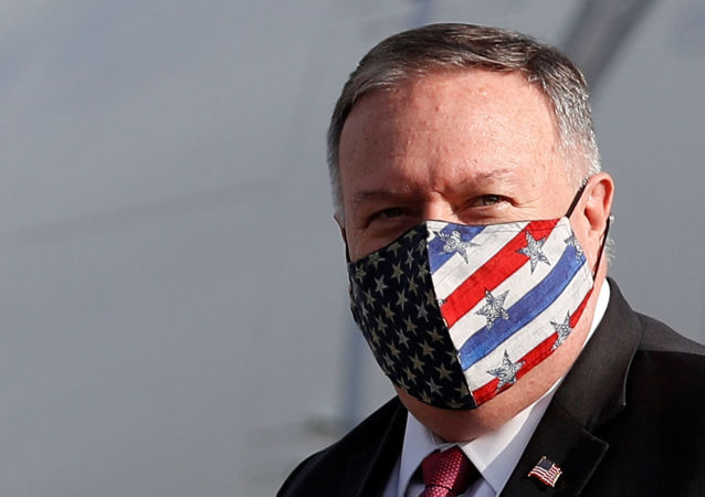 美國國務卿蓬佩奧