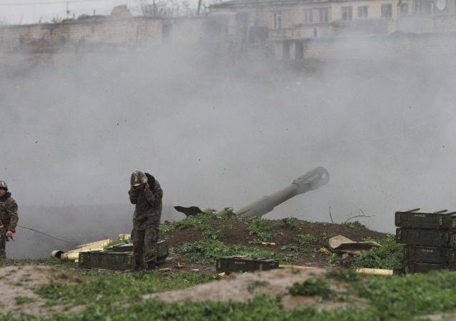 納卡當局宣佈摧毀佔賈的軍事機場