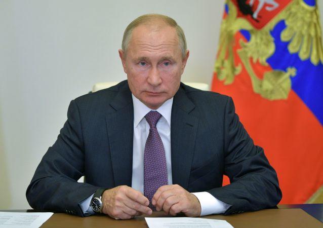 俄總統普京稱必須努力提高國民壽命