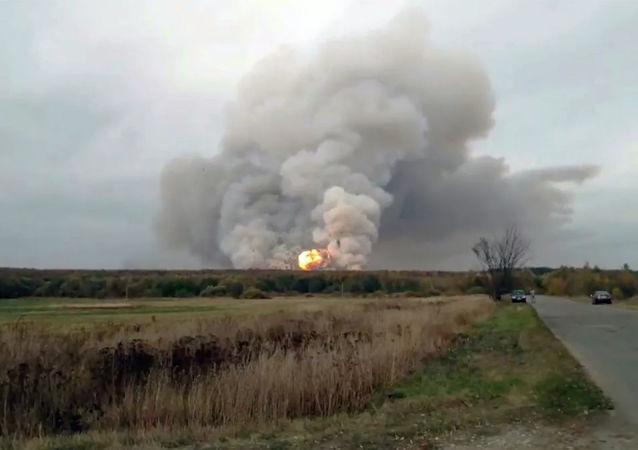 俄國防部:梁贊州炮彈爆炸強度降至每15-25分鐘爆炸一次