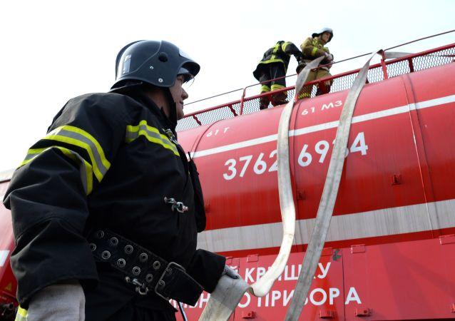 俄羅斯消防人員