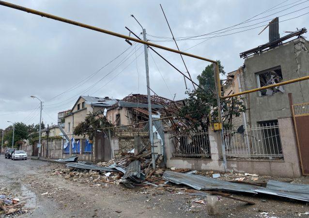 納卡地區領導人指責阿塞拜疆當局實施種族滅絕政策