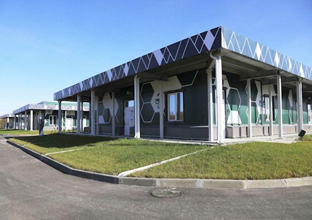 俄羅斯東部軍區阿納斯塔西耶夫卡村的多功能醫療中心