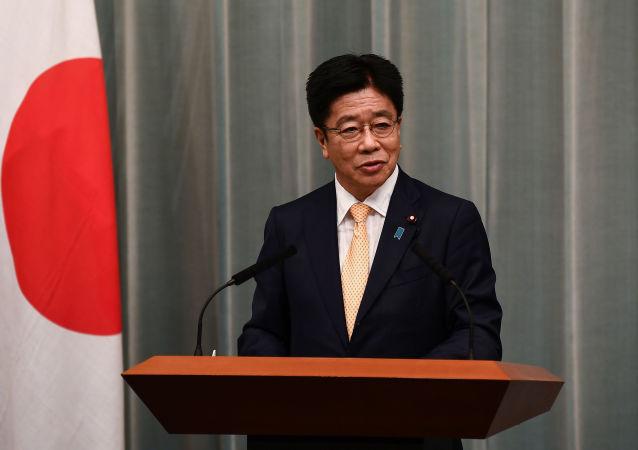 日本內閣官房長官加藤勝信