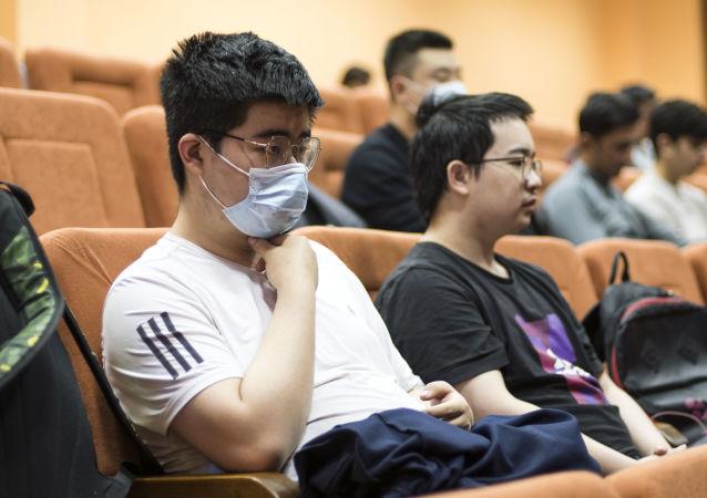 中國留學生積極參加在莫斯科舉辦的民族志奧林匹克競賽