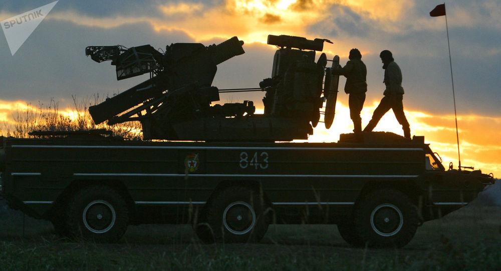 「黃蜂」防空導彈系統