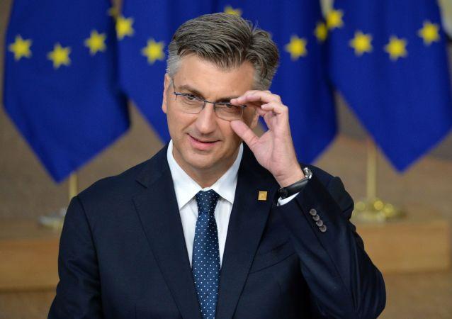 克羅地亞總理普連科維奇