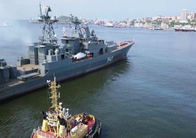 俄軍工委員會:計劃繼續將海軍大型反潛艦升級改造為護衛艦