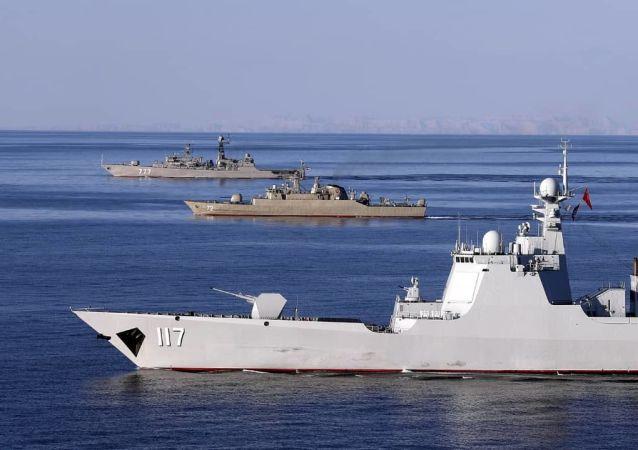 中國在海上軍備競賽中能超越美國嗎?