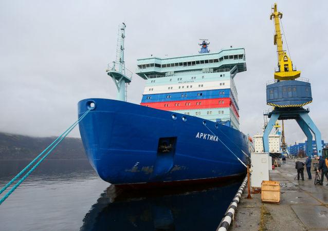 俄核動力破冰船