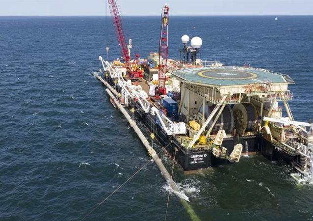 奧地利石油天然氣集團預計「北溪-2」德國水域管道鋪設工作將於12月完成