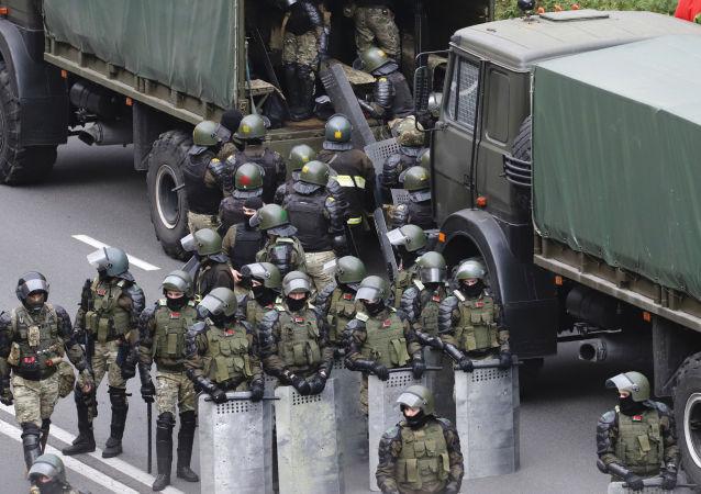 白俄羅斯警察
