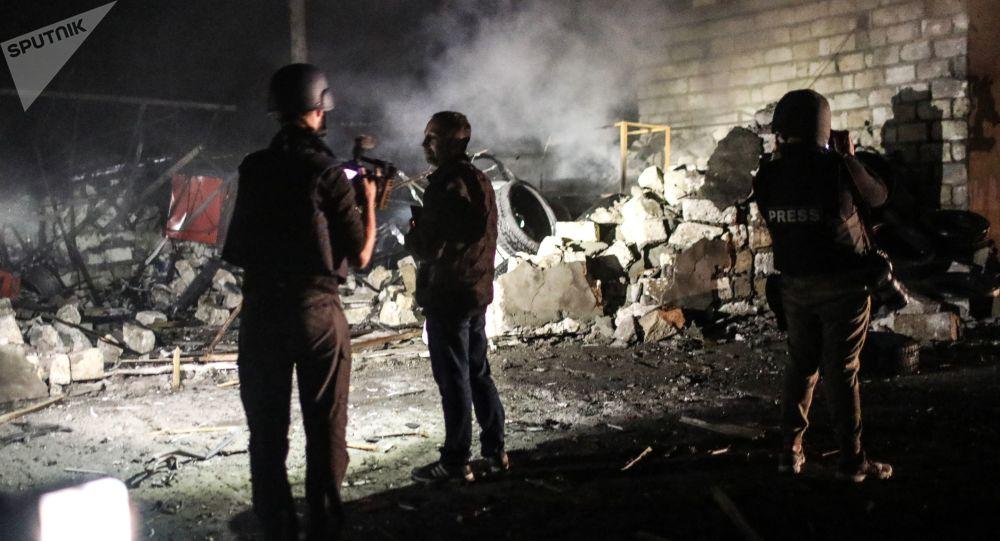 納卡地區阿斯克蘭區三個村莊附近爆發激烈戰鬥