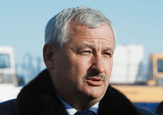 白俄羅斯工業部長帕爾霍姆奇克