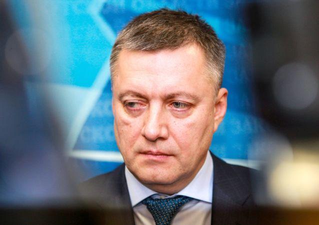 伊爾庫茨克州長伊戈爾•科布澤夫