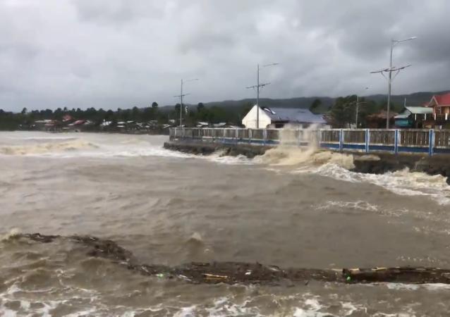 強颱風「莫拉菲」襲擊菲律賓