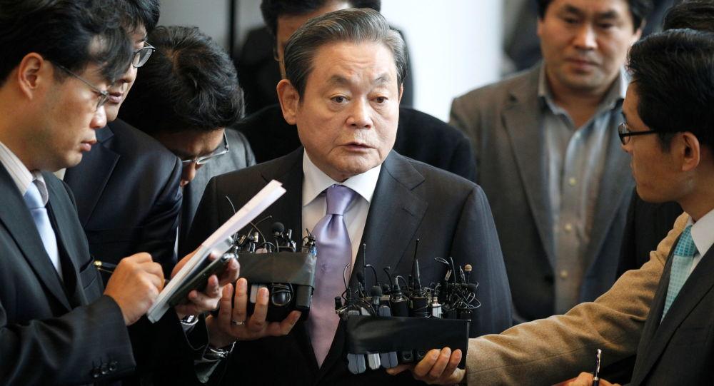 韓國已故三星集團會長李健熙