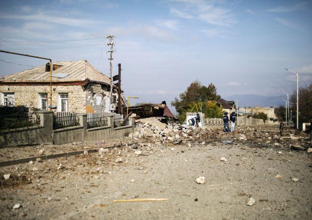 卡拉巴赫當局指責巴庫使用「龍捲風」多管火箭炮炮擊三個城市