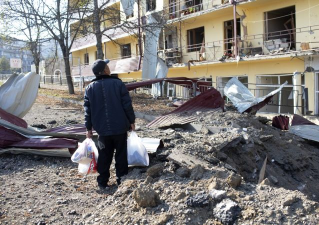 納卡地區緊急情況局稱馬爾圖尼市遭到空襲
