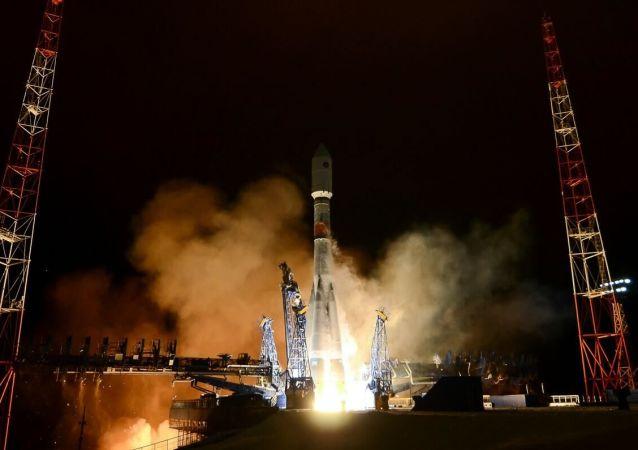 「聯盟」號火箭發射