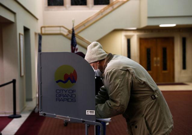 美國密歇根州的大選