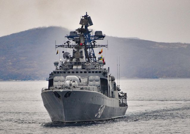 俄太平洋艦隊戰艦結束對斯里蘭卡的訪問