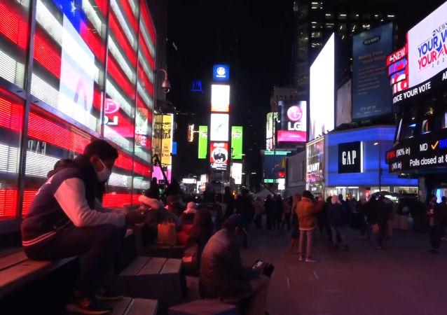 紐約如何等待選舉結果