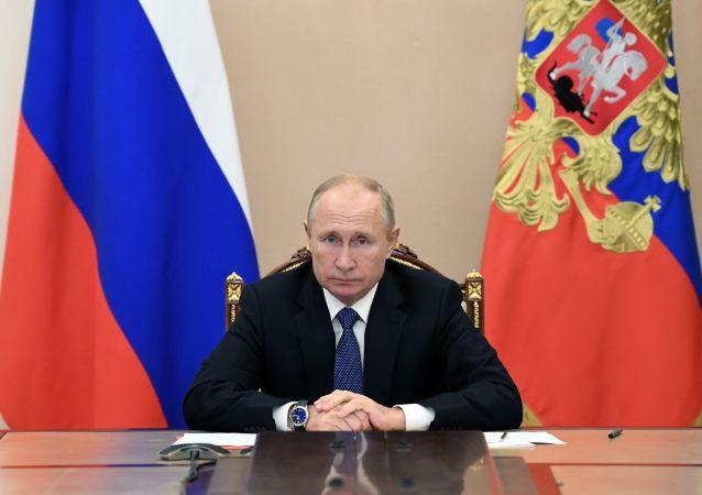 俄羅斯聯邦總統弗拉基米爾∙普京