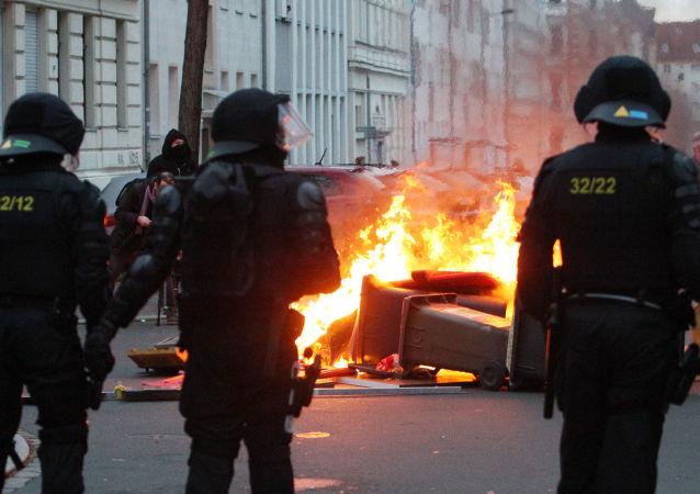 萊比錫騷亂