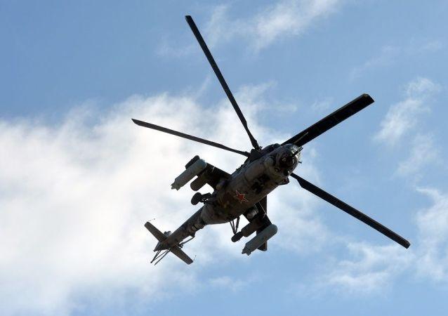 米-24直升機