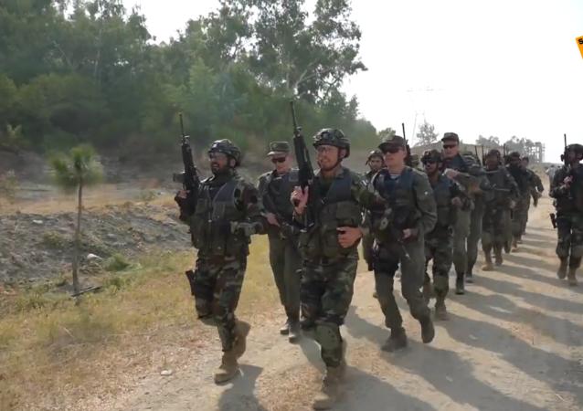 俄羅斯與巴基斯坦軍人在聯合演習「友誼-2020」中開展射擊訓練