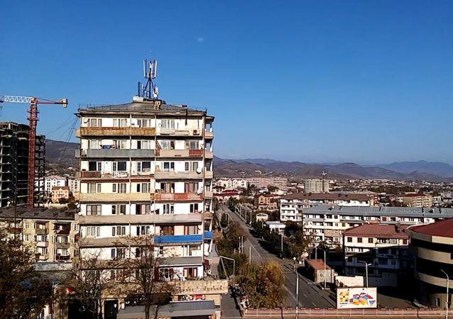 未獲國際承認的納戈爾諾-卡拉巴赫共和國首都斯捷潘納克特