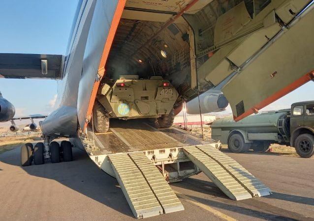 俄國防部:又有20架攜維和人員和技術裝備的飛機抵達埃里溫