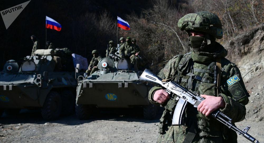 俄國防部國際排雷中心專業人員前往納卡地區