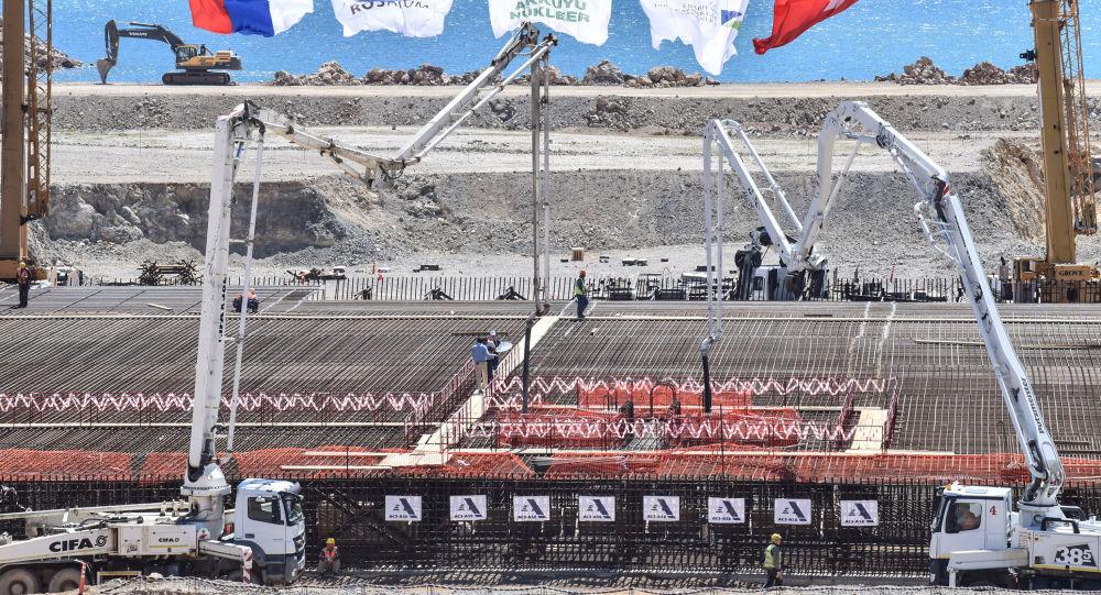 俄國家原子能集團計劃2021年春季開始為土耳其阿庫尤核電站建造三號機組