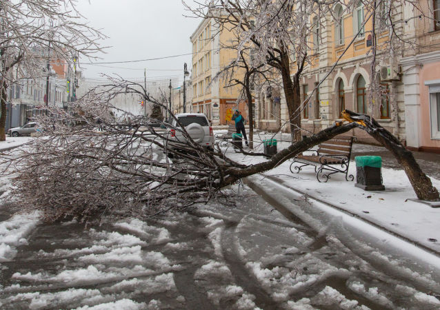 俄符拉迪沃斯托克市超300家機構將參與星期六義務勞動清掃冰雪