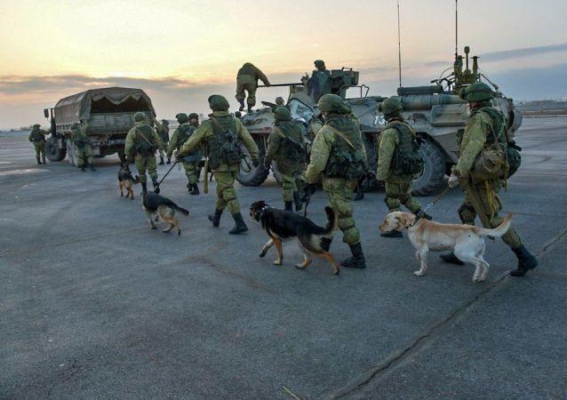 俄羅斯武裝力量國際排雷中心軍人